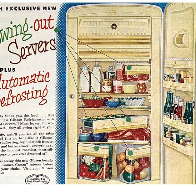 Ice-boxes were also called refrigerators…