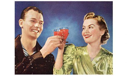 A toast to Heinz Tomato Juice; a toast to super copywriting