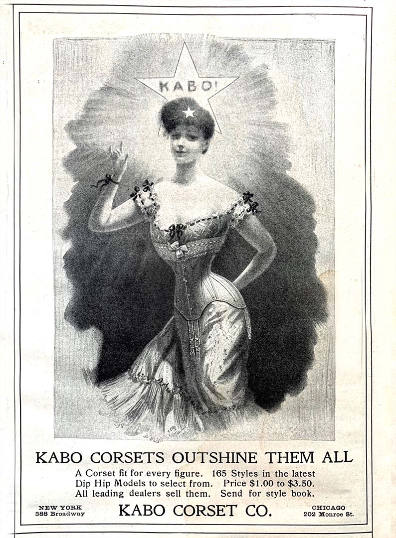 Advertisement for Kabo Corsets