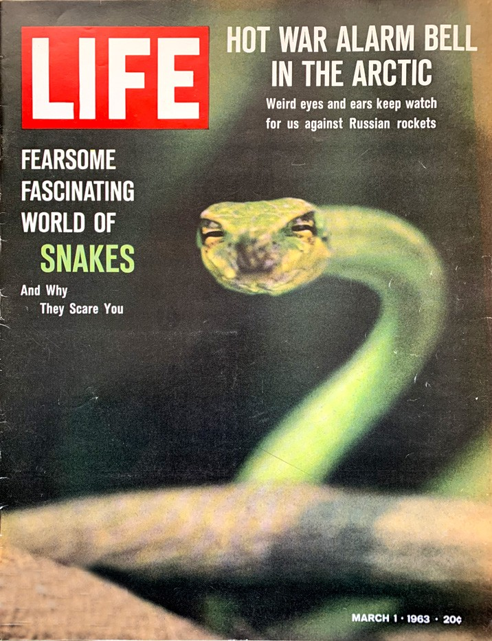 LIFE's cover, March 1, 1963
