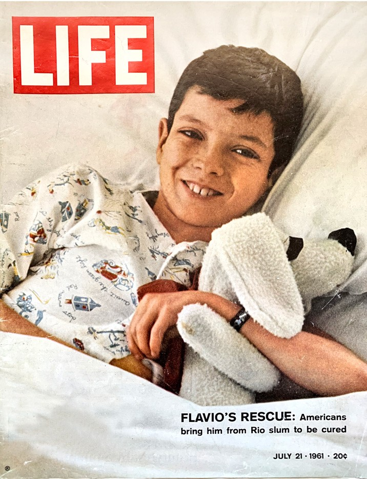 LIFE's cover, July 21, 1961