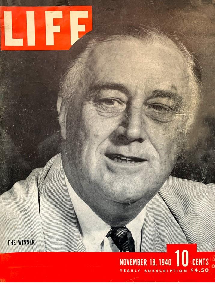 LIFE's cover, November 18, 1940