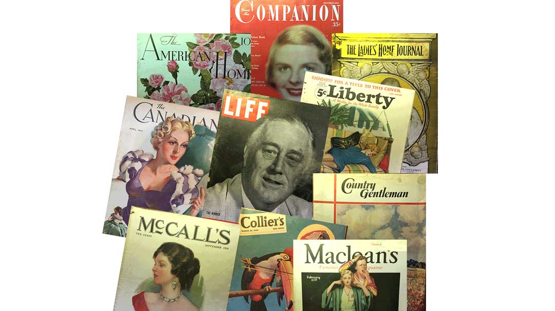 Before Google people relied on magazines that addressed topic of interest