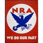 In 1933 this NRA logo had nothing to do withguns