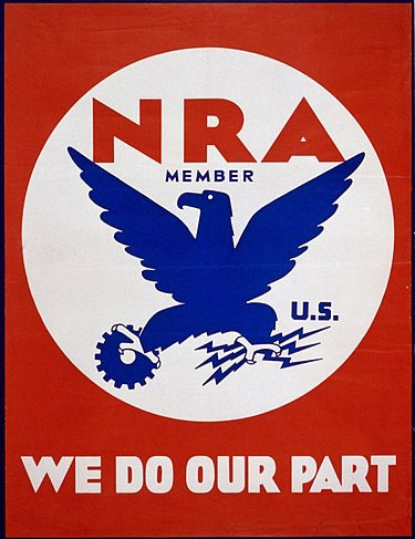 The NRA Logo of the National Industrial Recovery Act (1933)