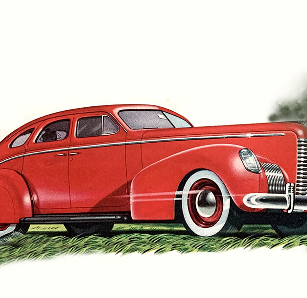 1938 Nash Sedan — it was the car everybody likes, or so they claimed