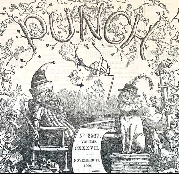 Punch was published for 150years
