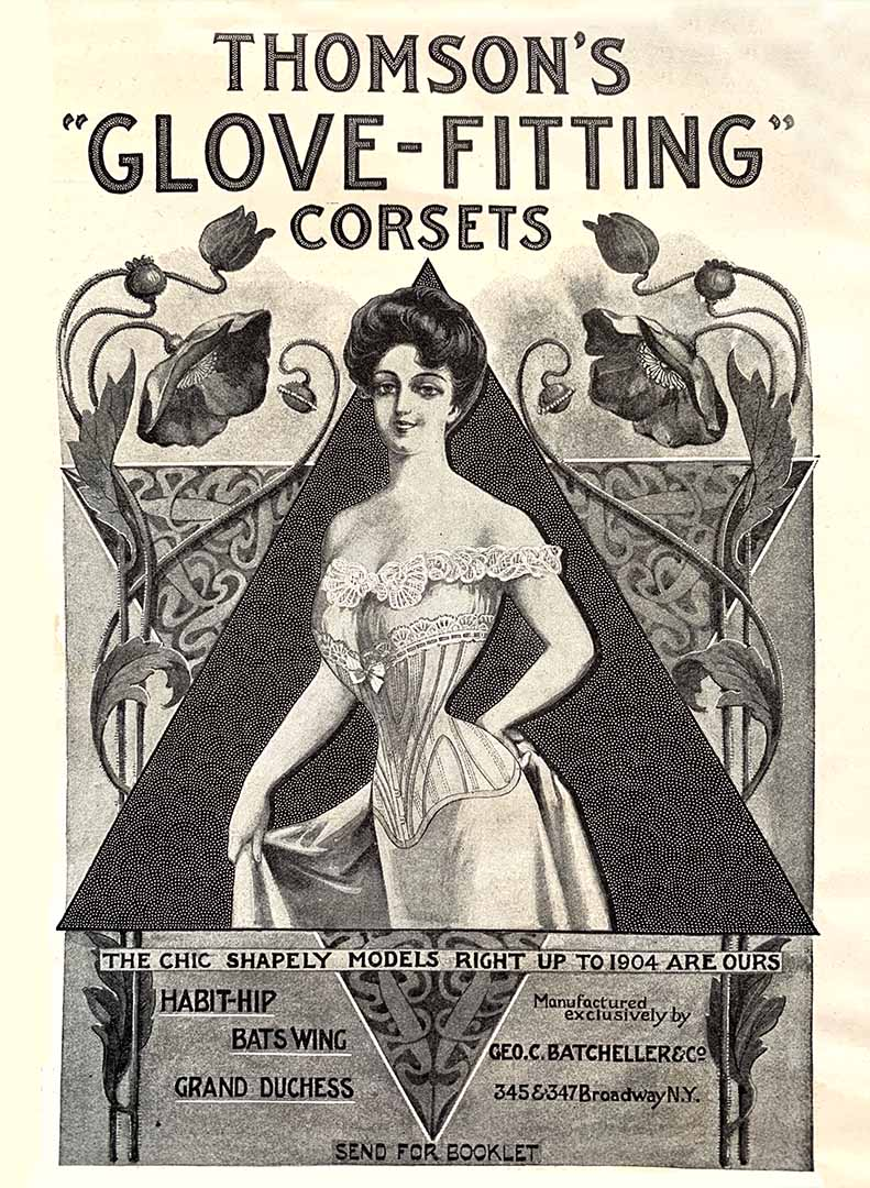 Advertisement for Thomson's Corsets