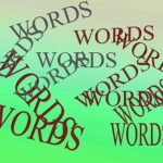 Little Words are powerful