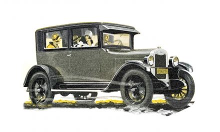"""The 1925 Chevrolet was """"new"""" in manyways"""